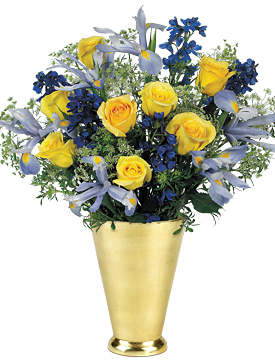 Jul - Blue Skies Bouquet