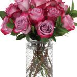 Aug - Deep Purple Roses