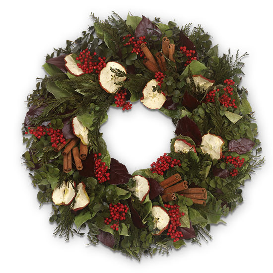 Fragrant Cinnamon Wreath