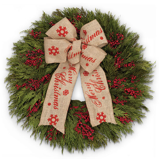 Christmas Time Wreath