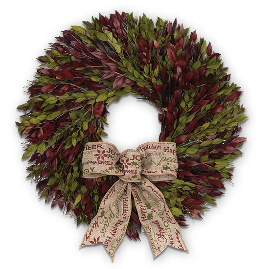 Holiday Happiness Wreath