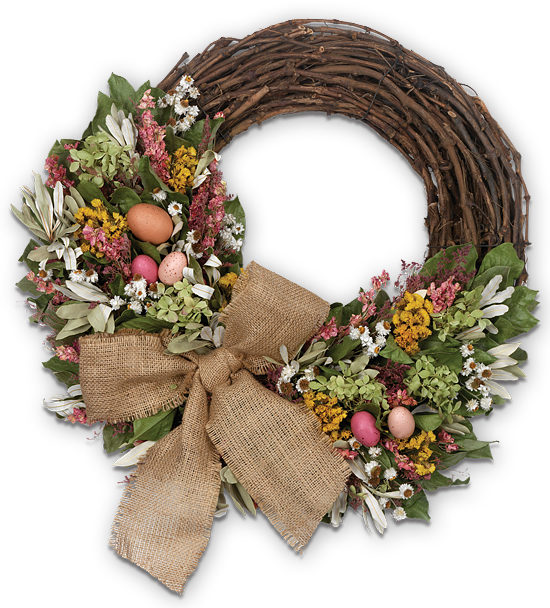 Spring Treasures Wreath