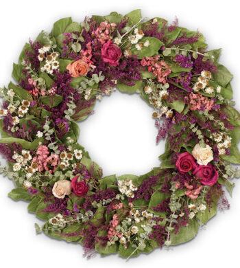 Wild Rose Wreath