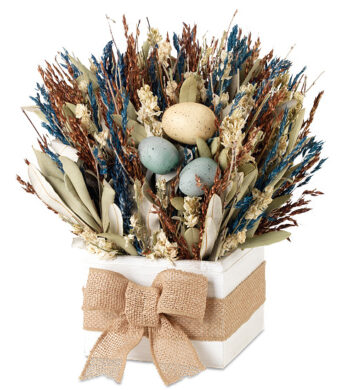 Robin's Egg Centerpiece