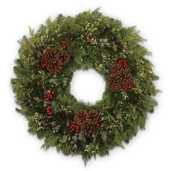Fresh Evergreen Wreath