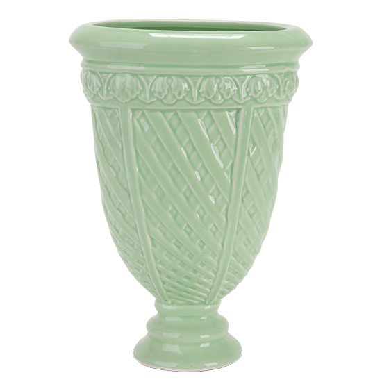 Green Garden Urn