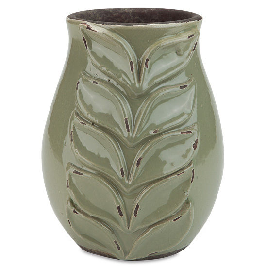 Jungle Palm Vase