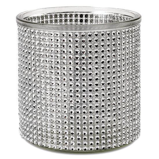 Bejeweled Glass Vase