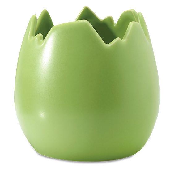 Spring Green Egg Vase