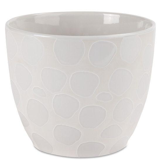 Capri Ceramic Cachepot