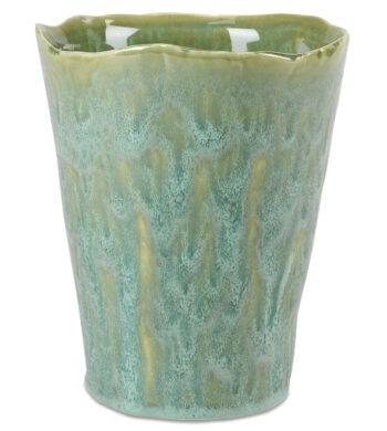 Aqua Green Glaze Ceramic Vase