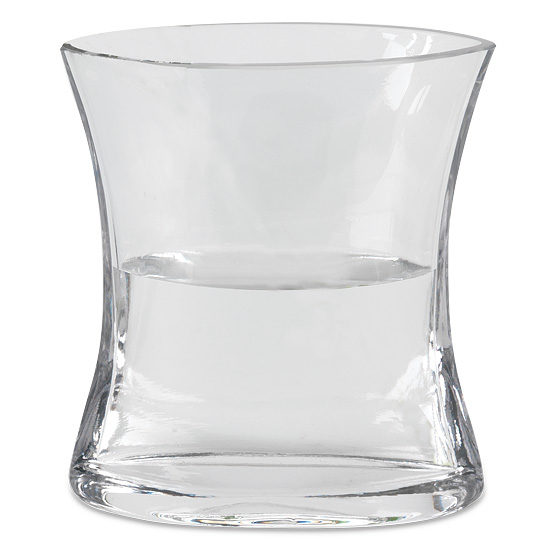 Angular Glass Vase