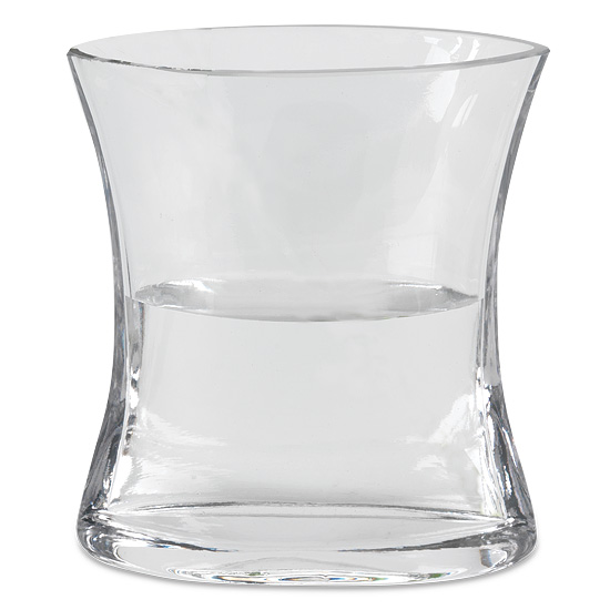 Angular Glass Vase