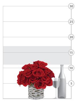 Uniquely Him Rose Bouquet