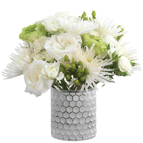Snowfall White Bouquet
