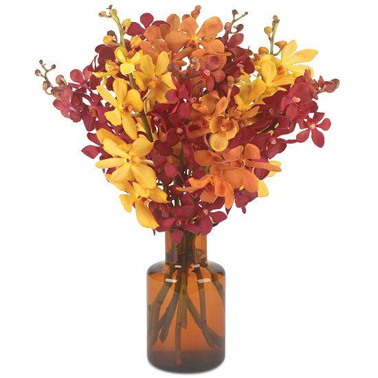 Autumn Glow Orchids Bouquet