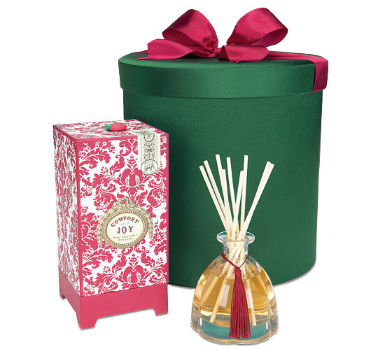 Comfort & Joy Home Fragrance Diffuser in a Hatbox