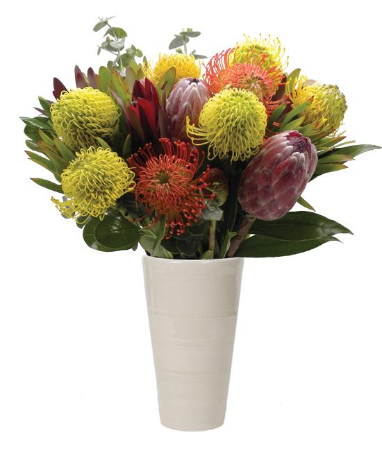 Oct - Autumn Tropical Bouquet