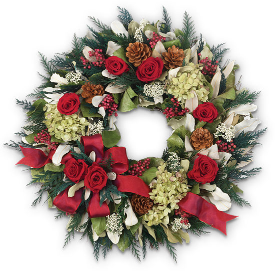 Holiday Garden Wreath