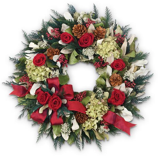 Holiday Garden Wreath