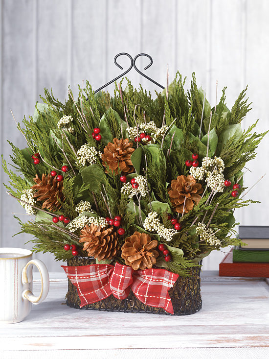 Happy Holidays Basket
