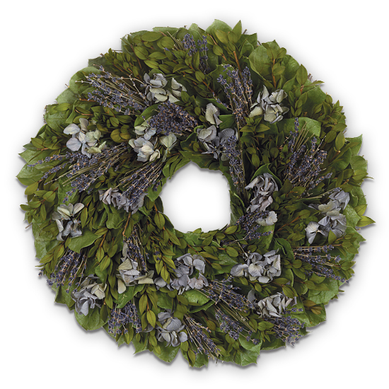 Aug - Provence Wreath