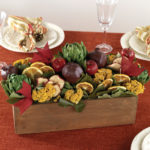 Oct - Heirloom Fruit & Vegetable Centerpiece