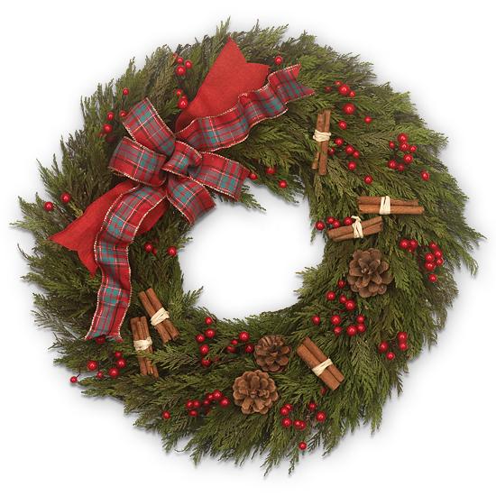 Dec - Everything Nice Holiday Wreath