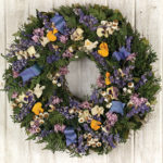 Apr - Springtime Pansy Wreath