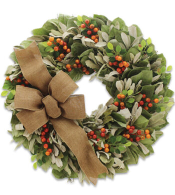 Tuscan Hillside Wreath