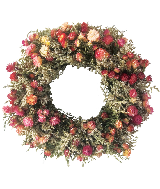 July/Aug - Summer's End Wreath