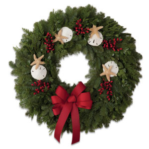 Fresh Coastal Holiday Wreath