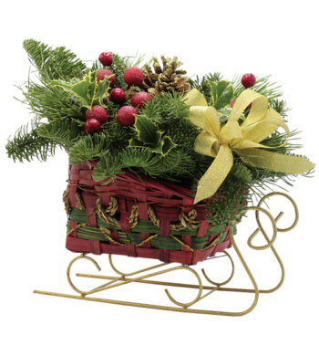 Sleigh Ride Centerpiece