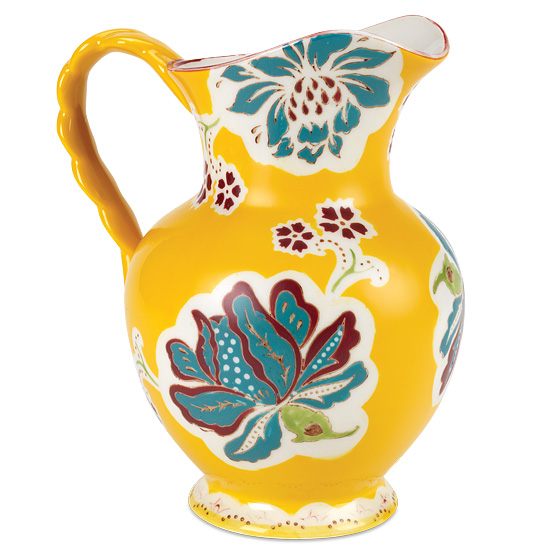 Hand Painted Buttercup Pitcher