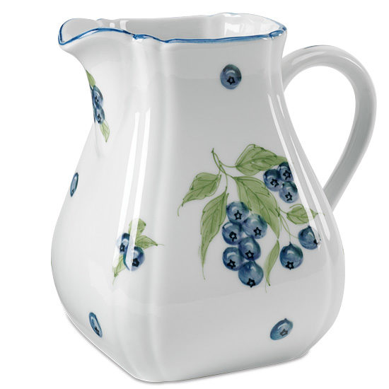 Blueberry Porcelain Pitcher