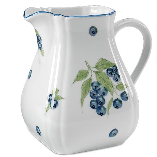 Blueberry Porcelain Pitcher