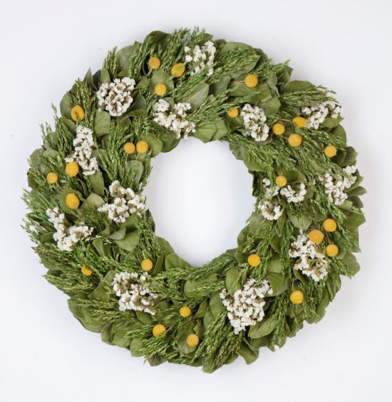 Aug - Midsummer Garden Wreath