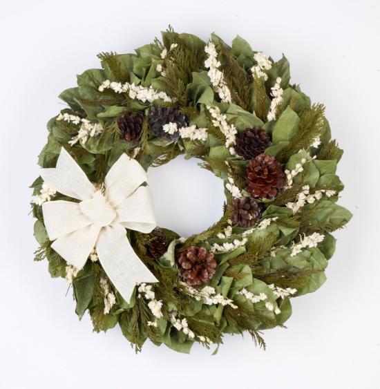 Dec - First Snowfall Wreath