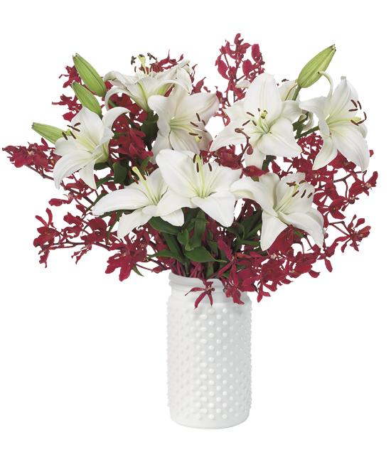 Snow Plum Bouquet