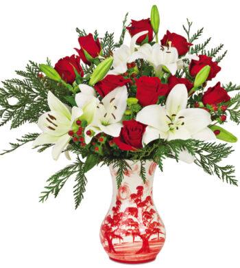 u2013 mountain christmas bouquet