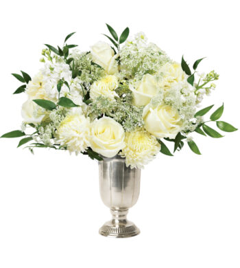 Wholesale flowers wedding flowers online calyx flowers silver belle bouquet mightylinksfo