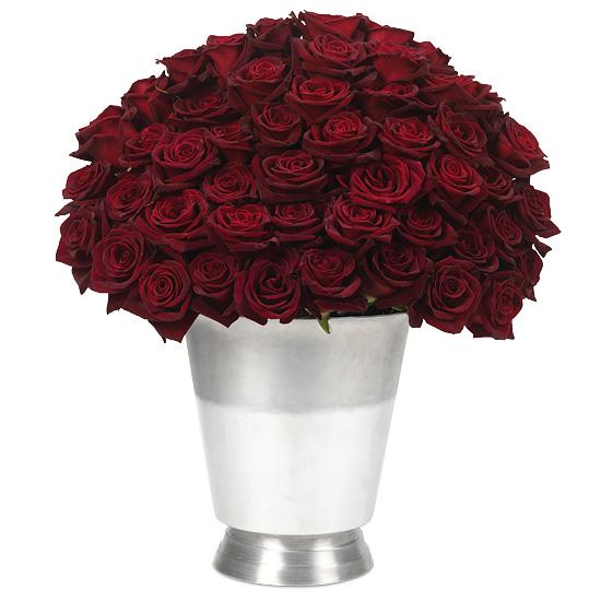 100 Black Baccara Roses Bouquet Luxury Dark Red Rose Variety