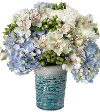 Biscayne Bay Bouquet with vase