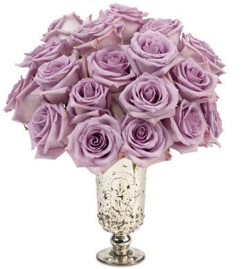 Parisian Roses with vase