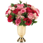 Pink Goddess Bouquet with vase