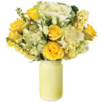 Zest For Life Bouquet with vase