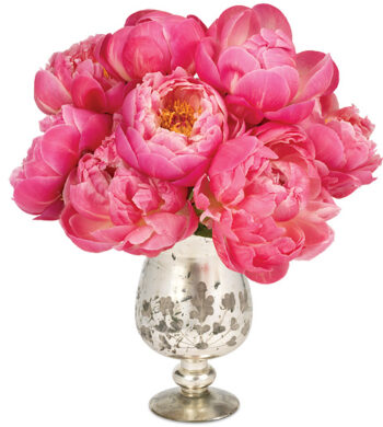 With Love Peonies with vase