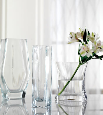 Signature Glass Vase Trio