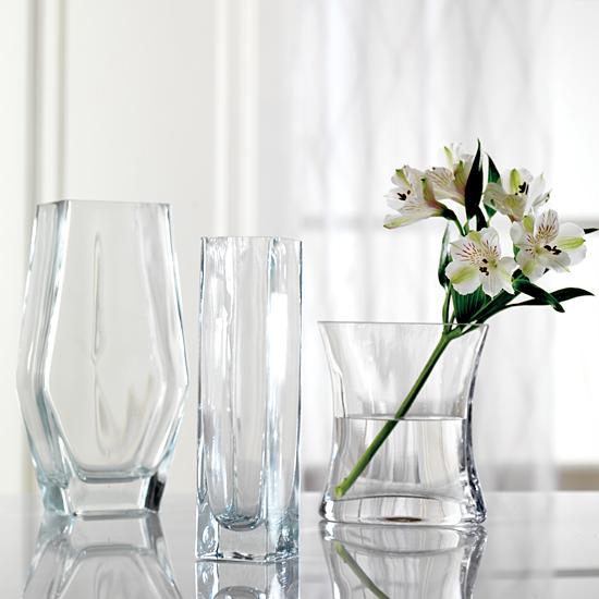 Signature Glass Vase Trio Calyx Flowers Inc