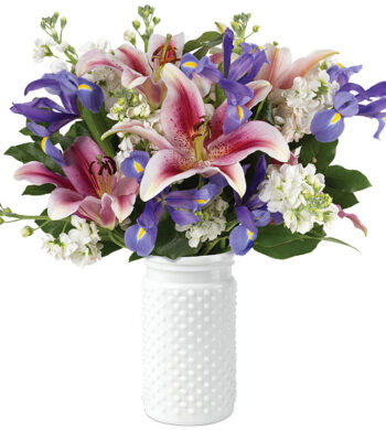Scent of Spring Bouquet with vase